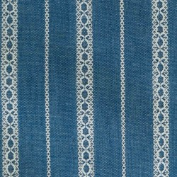 Tela Denim Embroidery Ligth Blue DE1
